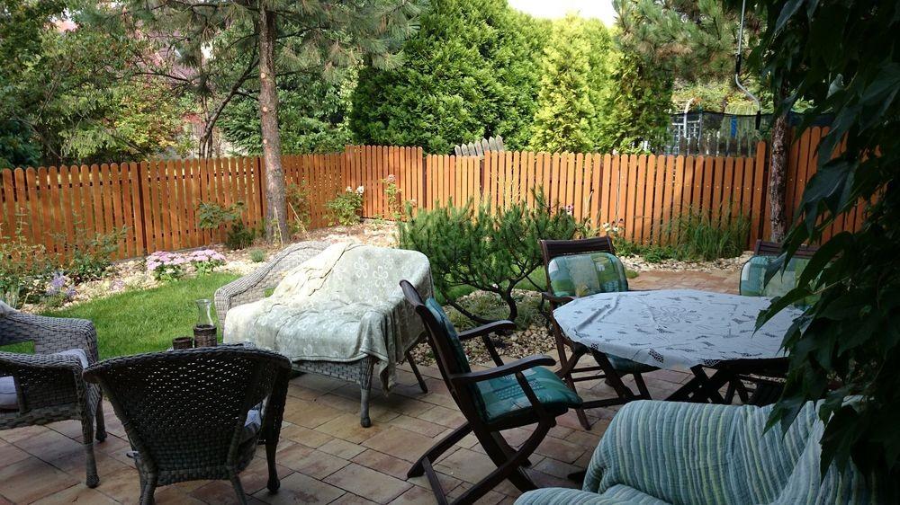 Perfect ... Garden Around The Terrace   Small Urban Back Graden