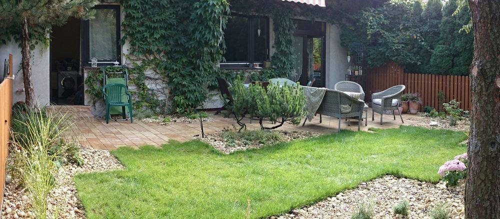 ... Garden Around The Terrace   Small Urban Back Graden ...